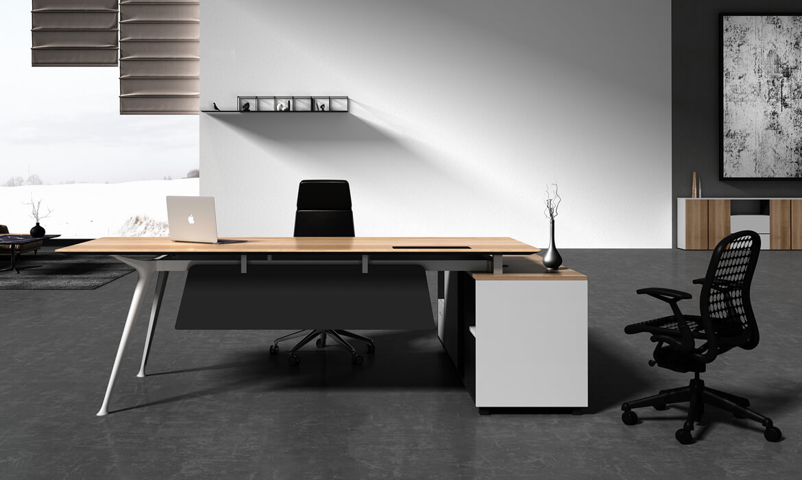 Boss Office Table Models Custom Desk with Drawers (HC-90)